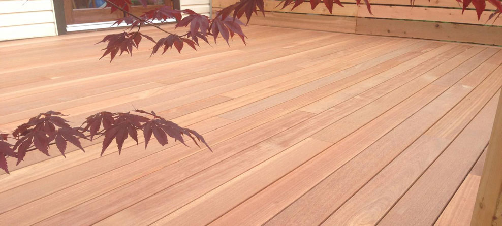 Pressure Treated Wood Decks